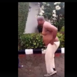 OMG!!! Nigerian Man Goes Completely N*ked In An Attempt To Collect His Owed Money (Photos + Video)