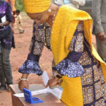 Ogun Stats LG Election: Governor Amosun and his wife Casting Their Votes (See Photos)