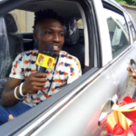 E! NEWS: Efe Gets His N25M Cheque & His Brand New SUV