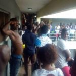 CAMPUS GIST: Lady Visits Nigerian Guy In Male Hostel, They Get Standing Ovation And Salutes