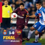 VIDEO: Espanyol vs Barcelona 1-0 – Highlights & Goals