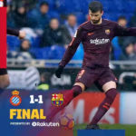 VIDEO: Espanyol 1 – 1 Barcelona [La Liga Highlights]