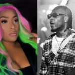 Burna Boy Gets Close Up & Romantic With Stefflon Don