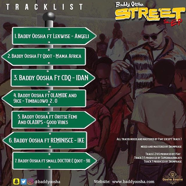 Baddy Oosha – Street The Ep
