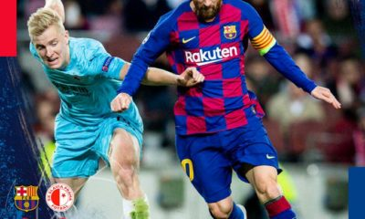 Barcelona vs Slavia Prague 0-0 – Highlights