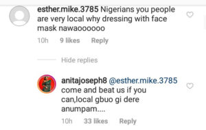 Anita Joseph and her followers clash over face mask usage