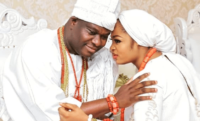 "Olori Prophetess Naomi reacts to rumors - ""My marriage to Ooni of Ife has not crashed"""
