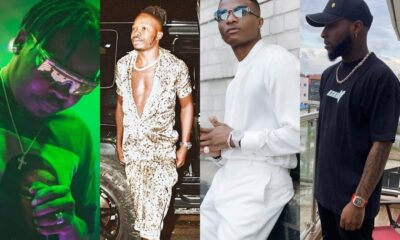 Wizkid, Olamide & Naira Marley Unfollow Davido On Instagram