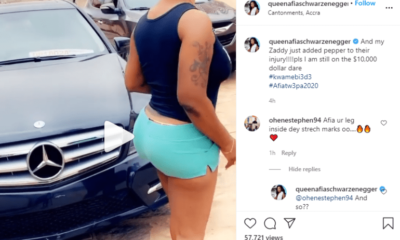 Afia Schwarzenegger BLASTS Social Media Troll Who Said There Are Stretch Marks All Over Her Body